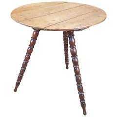 Late 19th Century Pine Gypsy Table