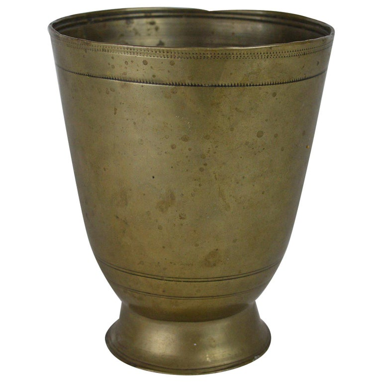 Antique German Paktong Tumbler Cup, 17th Century For Sale