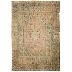 Antique Turkish Ghiordes Rug