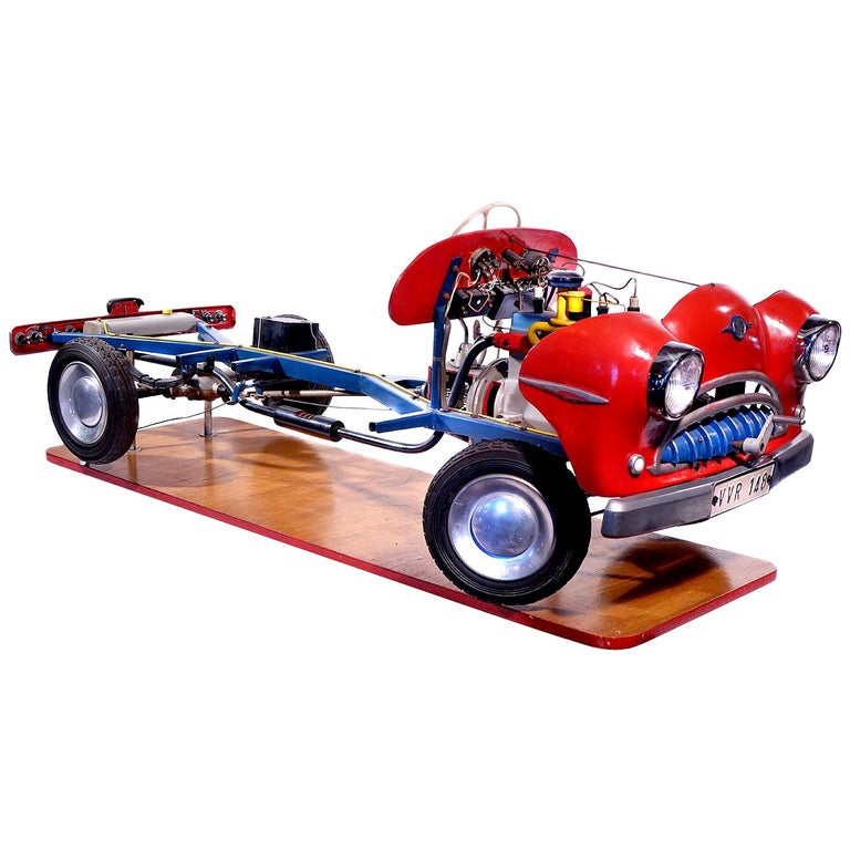1950s Detailed Driving School Model For Sale