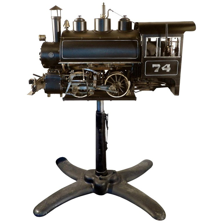 0-4-0 Industrial Tank Live Steam Railroad Engine For Sale