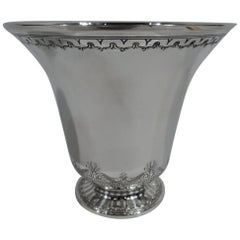 Small Modern Classical Sterling Silver Urn Vase by Tiffany