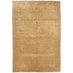 Antique Turkish Silk Sivas Rug