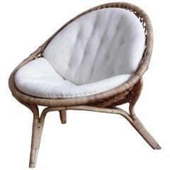 Rare Original Nanna Ditzel Three-Legged Lounge Chair