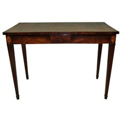 George III Mahogany Side Table or Serving Table