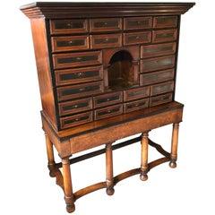 18th Century Cabinet Of Curiosities, Estate Cabinet