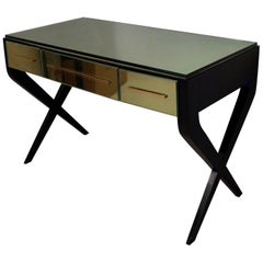 In the Style of Gio Ponti Italian Desk, 1950