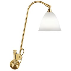 BL6 Wall Lamp, Brass, Bone China