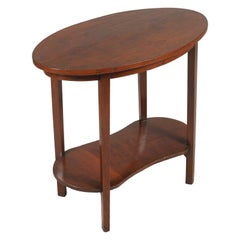 Early 20th Century Small Occasional Rustic Country Table, Art Nouveau, Restored