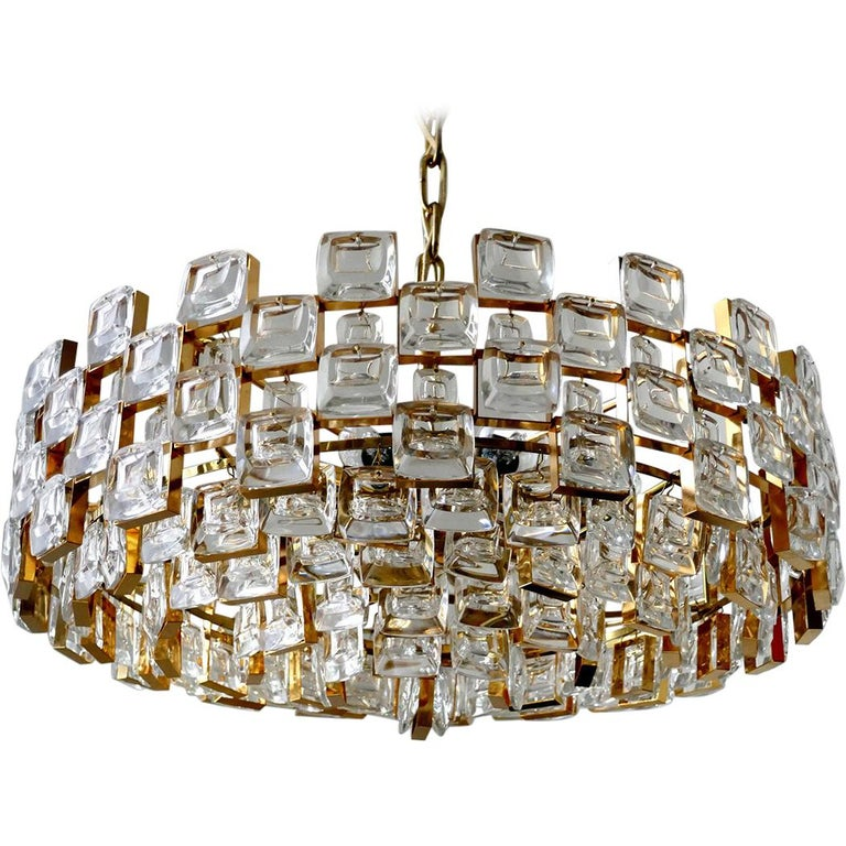 Wonderful German Vintage Ceiling Light Chandelier, 1960s For Sale