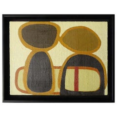 """Copains"", an Original Encaustic on Panel Painting by Mark Goodman"