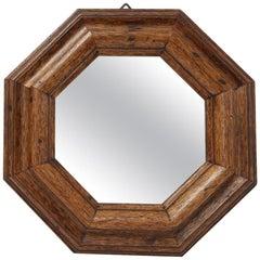 Italian Vintage Octagonal Mirror