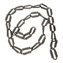 Rare 1920s Aluminum Decorative Chain
