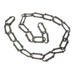 Rare 1920s Decorative Aluminum Chain