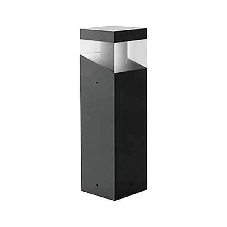 Artemide Tetragono 45 Outdoor Floor Light in Black