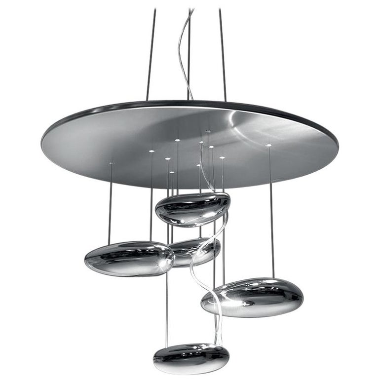 Artemide Mercury Mini LED Suspension Light with Dimmer For Sale