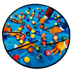 """Seletti """"Snooker"""" Round Rug by Toiletpaper"""