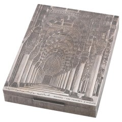 Mario Buccellati, a 20th Century Italian Silver Table Box
