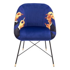 "Seletti ""Lipsticks"" Upholstered Occasional Chair by Toiletpaper"