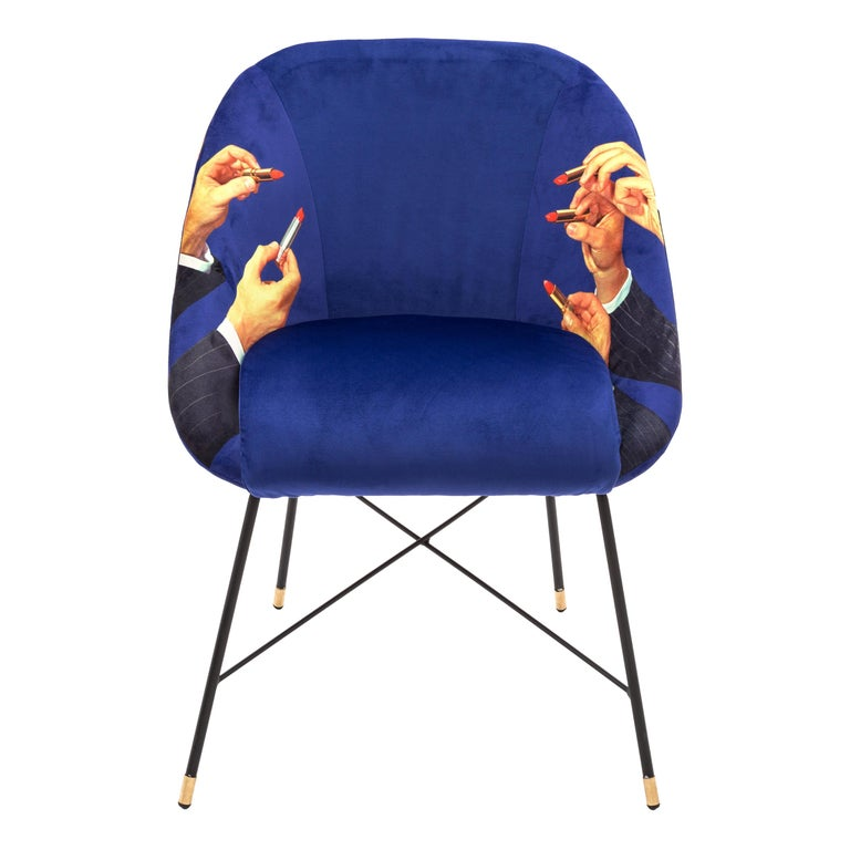 Seletti Quot Lipsticks Quot Upholstered Occasional Chair By