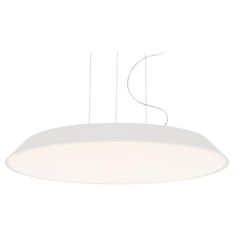 Artemide Febe 2700K Suspension Light in White For Sale