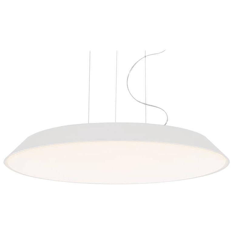Artemide Febe 3000K Suspension Light in White For Sale