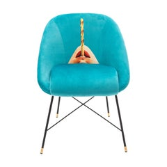 "Seletti ""Drill"" Upholstered Occasional Chair by Toiletpaper"