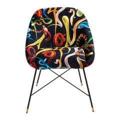 "Seletti ""Snakes"" Upholstered Occasional Chair by Toiletpaper"