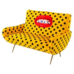 "Seletti ""Shit"" Upholstered Two-Seat Sofa by Toiletpaper"