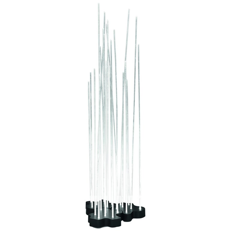 Artemide Reeds Triple Floor Lamp For Sale
