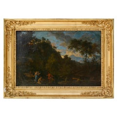 Attributed to Jean Francois 'Francisque' Millet, Idyllic Landscape, 1670s