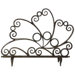 Cast and Wrought Iron Fireplace Screen