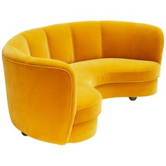 Banana Sofa, Danish Design, circa 1950