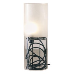 Tall Lamp - Aura Collection, Contemporary Acrylic Lamp