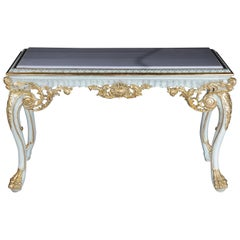 Gorgeous Console or Sideboard in the Baroque Style, Beechwood