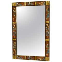 Tile Framed Labarge Wall Mirror