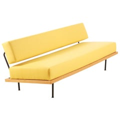 Josef Pentenrieder, Minimalist Daybed Convertible Sofa for Hans Kaufeld, 1954