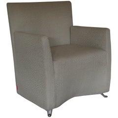 "Cerruti Baleri Italia ""Caprichair"" Armchair in Boucle Fabric"
