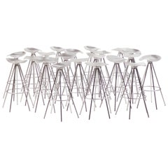 """Sixteen Early Production """"Jamaica"""" Stools by Pepe Cortés for Amat of Spain"""