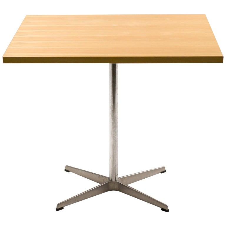 Arne Jacobsen Shaker Cafe Table For Sale