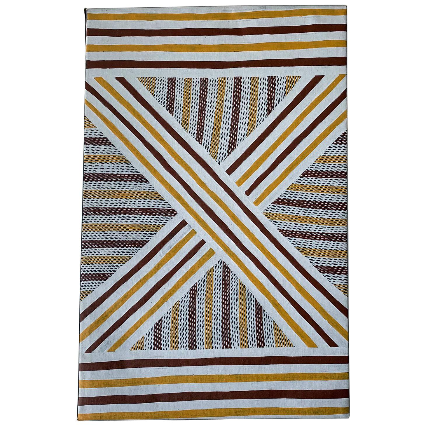 An Australian Aboriginal Painting from Elcho Island