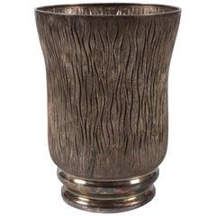 Vintage Messulam Silver Vase, Italian Production, 1932