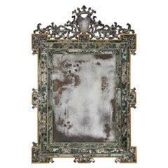 Italian 19th Century Louis XIV Style Venetian Mirror
