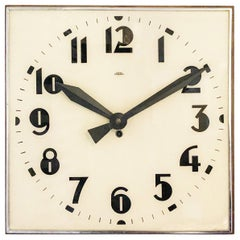 Beautiful Large Bauhaus Wall Clock