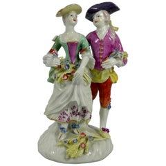 Derby Porcelain Figure Group, 'Summer', circa 1765