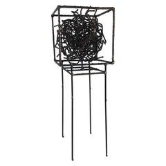 """Controlled Chaos"" Original Sculpture, American Artist Joey Vaiasuso circa 2019"