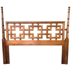 Queen Headboard by Henry Link from the Mandarin Collection