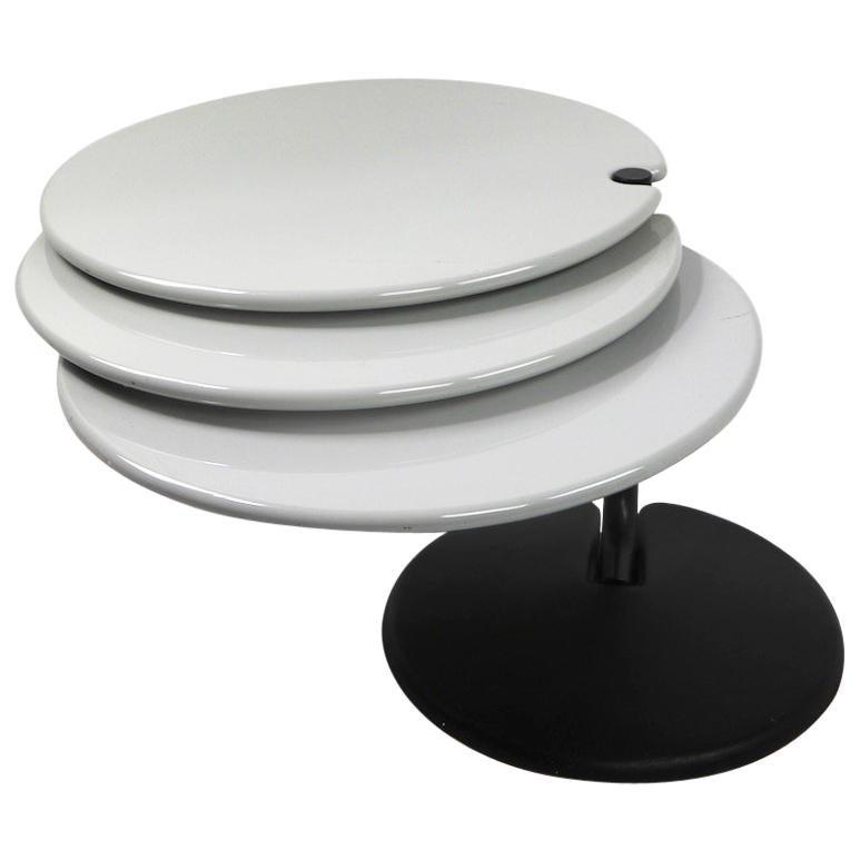 Postmodern Adjustable Table after Joe Colombo