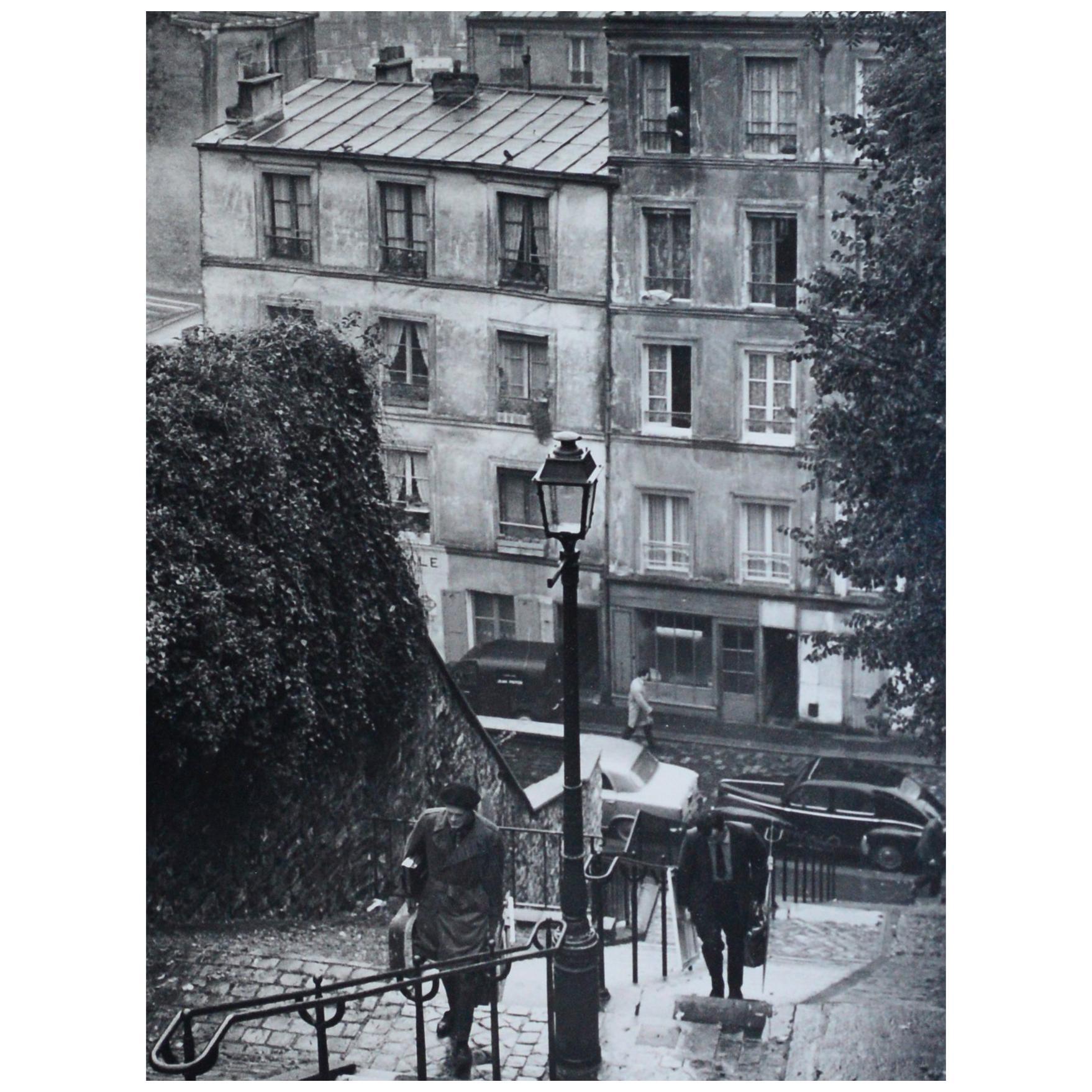 Andre Kertesz 'Montmarte', Paris, 1963