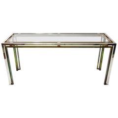 Console Table by Romeo Rega, Italy, circa 1969